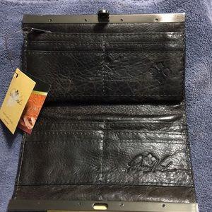 Patricia Nash Bags - Patricia Nash grey wallet